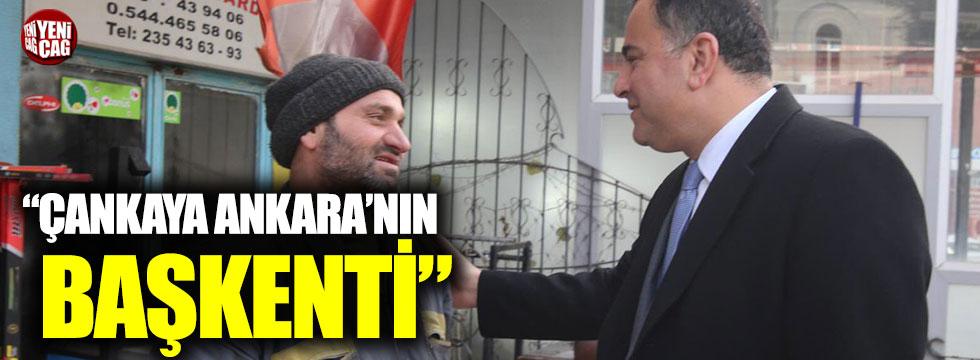 """Taşdelen: """"Çankaya Ankara'nın başkenti"""""""