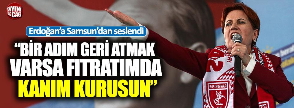 """Meral Akşener'den Erdoğan'a: """"Elinden geleni ardına koyarsan namertsin"""""""