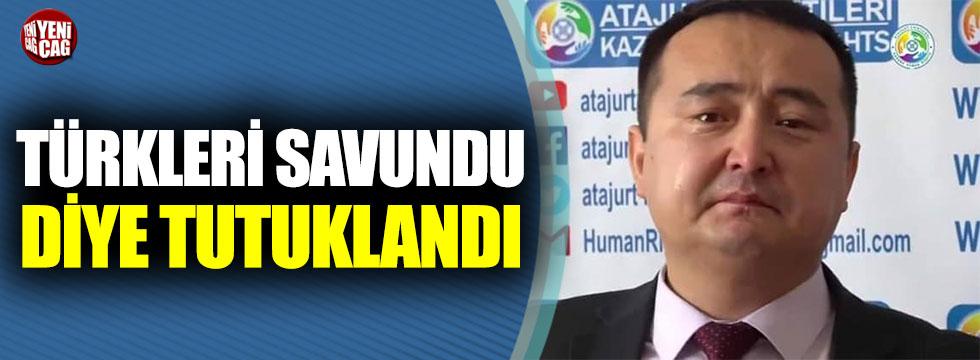 Türkleri savundu diye tutuklandı