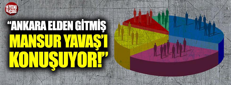 """""""Ankara elden gitmiş Mansur Yavaş'ı konuşuyor"""""""