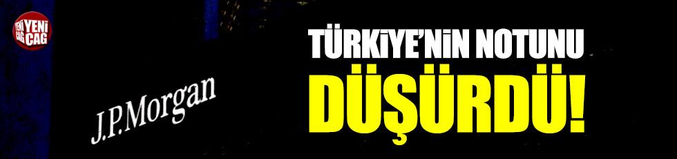 JP Morgan, Türkiye'nin büyüme tahminini düşürdü