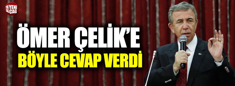 Mansur Yavaş'tan AKP'li Ömer Çelik'e cevap