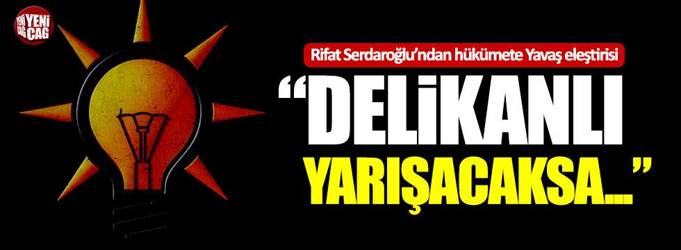 """Eski Bakan'dan hükümete Mansur Yavaş eleştirisi: """"Delikanlı yarışacaksa..."""""""