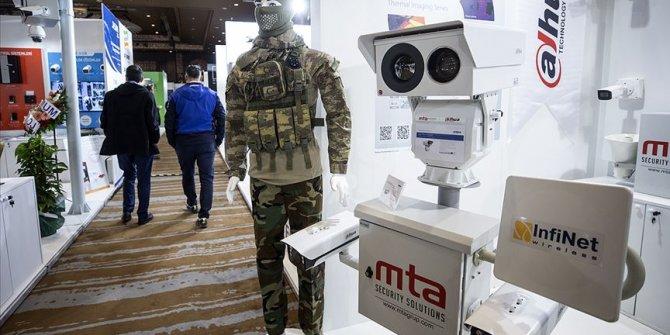 Güvenlikteki son teknolojiler sergileniyor