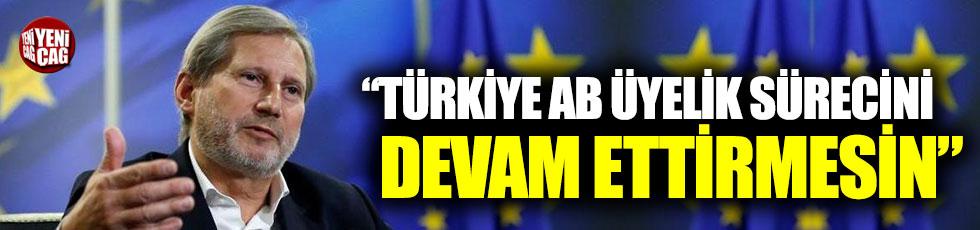 """""""Türkiye AB üyelik sürecine devam ettirmesin"""""""