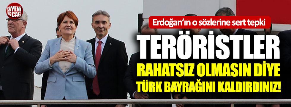 Meral Akşener'den Erdoğan'ın o sözlerine sert tepki!