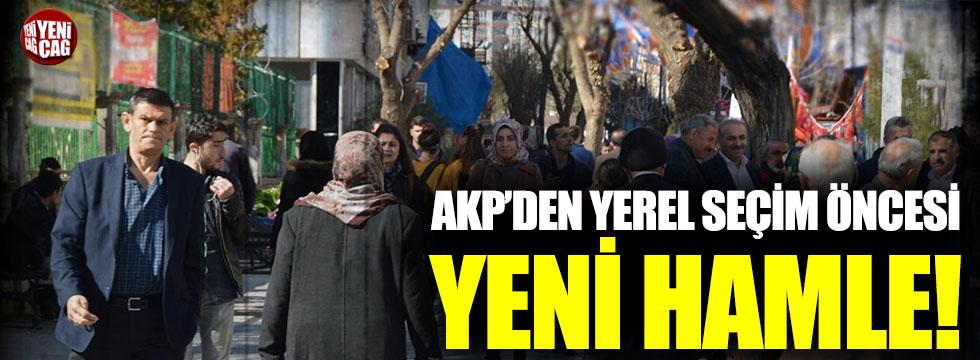 AKP'den yerel seçim öncesi yeni hamle!