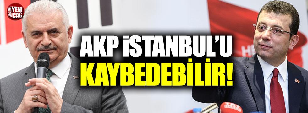"""""""AKP İstanbul'u kaybedebilir"""""""