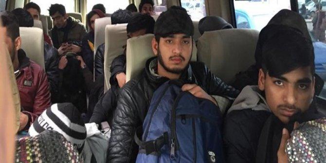 Edirne'de 22 düzensiz göçmen yakalandı
