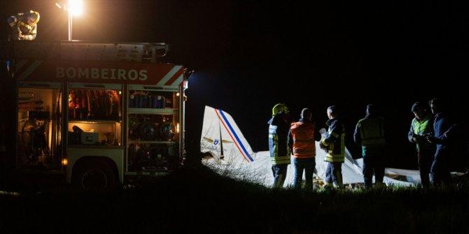 Portekiz'de uçak düştü: 2 ölü