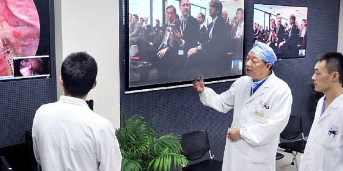 Dünyanın ilk uzaktan beyin ameliyatı Çin'de gerçekleştirildi