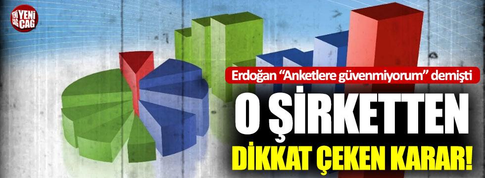 """Erdoğan """"Anketlere güvenmiyorum"""" demişti: Konda'dan dikkat çeken anket kararı"""