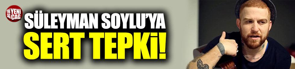 Gökhan Özoğuz'dan Süleyman Soylu'ya tepki!