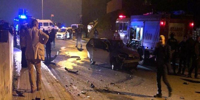 Pendik'te feci kaza: 2 ölü