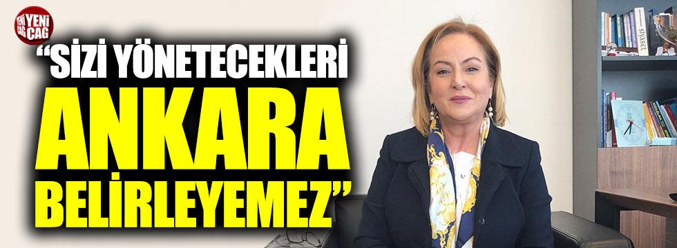 """Mersin Adayı Ayfer Yılmaz: """"Sizi yönetecekleri Ankara belirleyemez"""""""