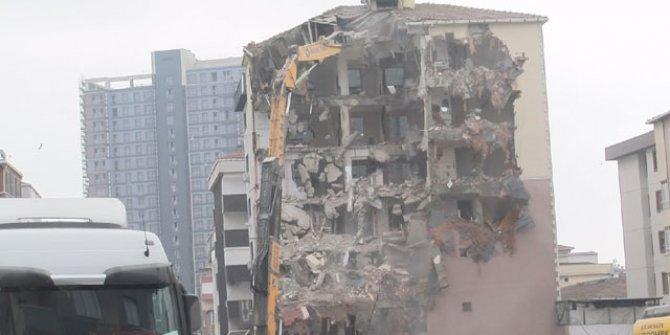 Kartal'da çöken bina hakkında yeni gelişme