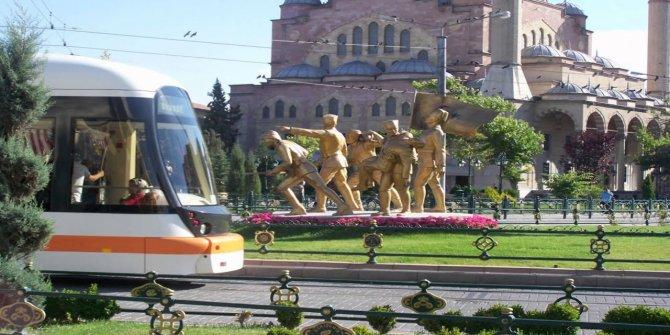 Eskişehir'de ulaşıma Erdoğan engeli