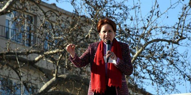 Meral Akşener İstanbul'da konuştu