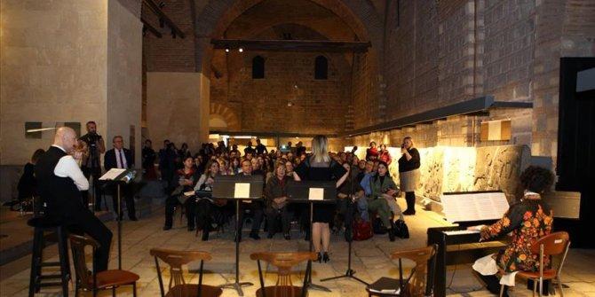 """""""Müzede müzik"""" etkinliğine yoğun ilgi"""