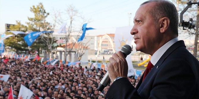 Erdoğan terörle mücadele için seçim sonrasını işaret etti