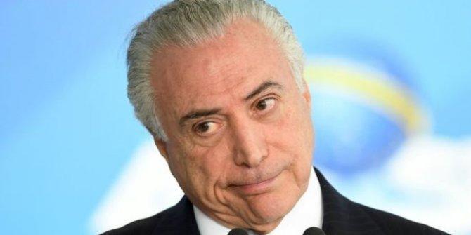 Brezilya'da eski Cumhurbaşkanı tutuklandı