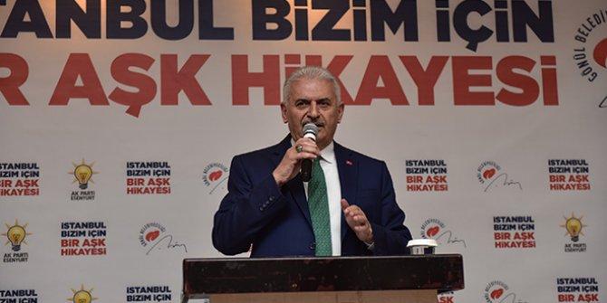 Binali Yıldırım Kürtçe Nevruz kutladı, oy istedi