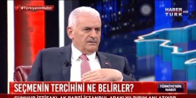 """Binali Yıldırım: """"HDP seçmeni bana oy verecek"""""""