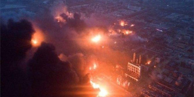 Çin'de kimya tesisinde patlama: 47 ölü