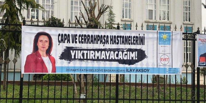 """İlay Aksoy: """"Çapa ve Cerrahpaşa Hastanelerini yıktırmayacağız"""""""