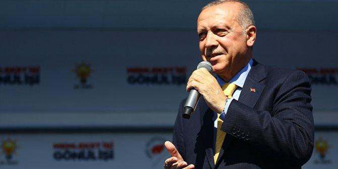 Erdoğan, Akşener'i hedef almaya devam etti