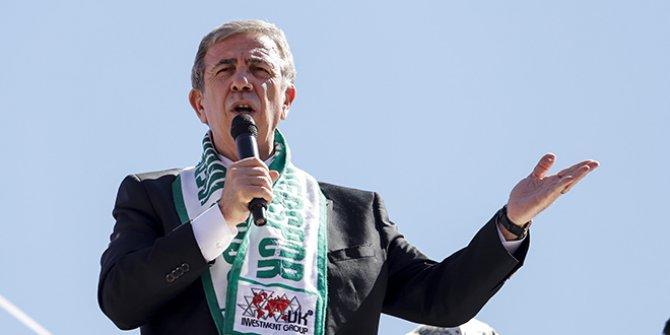 """Mansur Yavaş: """"Arada 15 puan fark var"""""""
