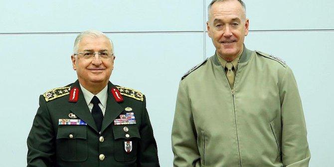 Yaşar Güler, ABD'li mevkidaşı ile görüştü