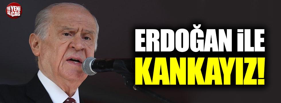 """Bahçeli: """"Cumhurbaşkanı Erdoğan ile kankayız"""""""