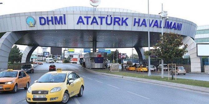 Atatürk Havalimanı'nda feci olay