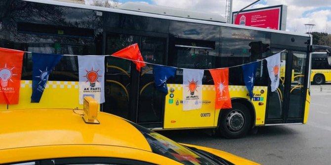 AKP'nin mitingi için bedava otobüs