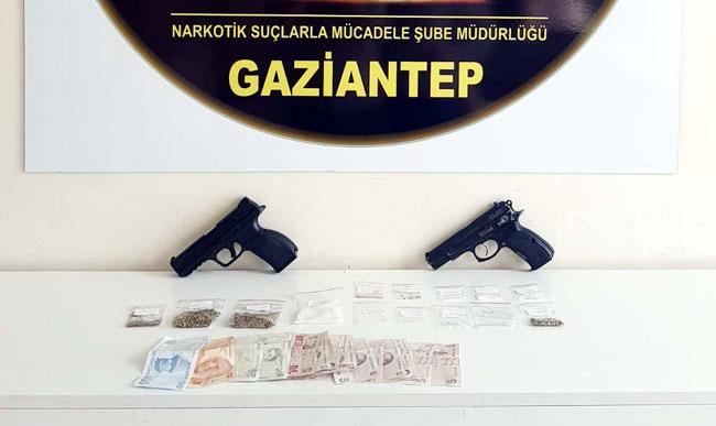 Gaziantep'te uyuşturucuya 18 gözaltı
