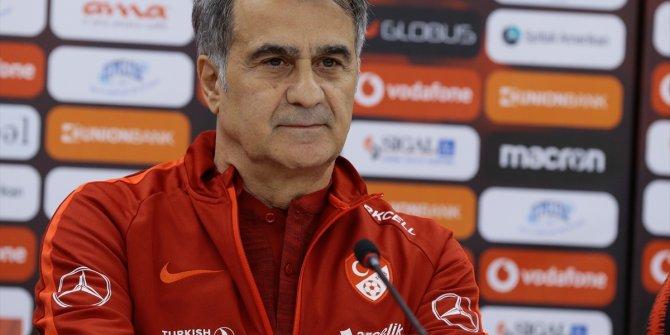 Şenol Güneş'ten Moldova maçı öncesi dikkat çeken açıklamalar