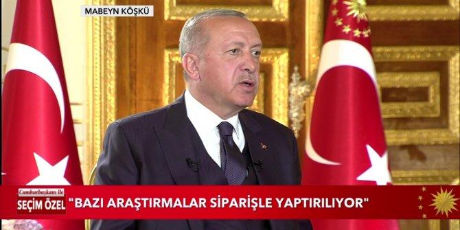 Cumhurbaşkanı Erdoğan, canlı yayında Yavaş'ı hedef aldı