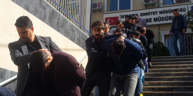 İstanbul'da 26 kişilik gasp çetesine operasyon