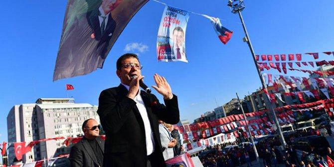 """İmamoğlu'ndan Erdoğan'a: """"İstanbul'un projeleriyle yorulmasın"""""""