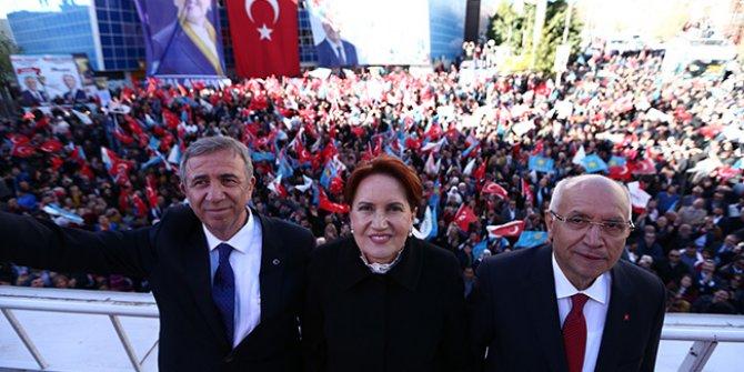 Meral Akşener Ankara'da konuştu