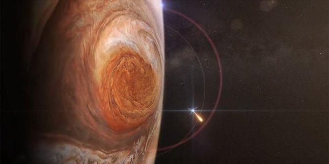 Jüpiter'in 'Büyük Kırmızı Leke'si fotoğraflandı