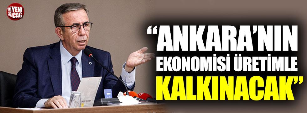 """Mansur Yavaş: """"Ankara'nın ekonomisi üretimle kalkınacak"""""""