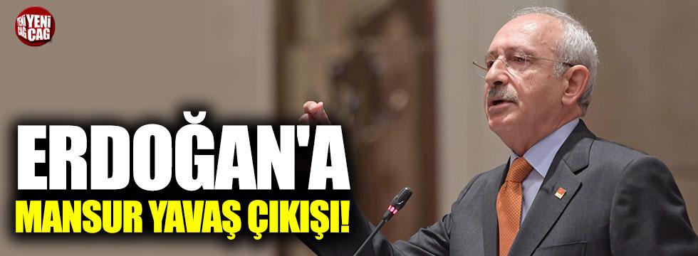 Kılıçdaroğlu'ndan Erdoğan'a Mansur Yavaş çıkışı!