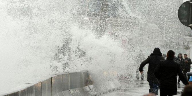 Marmara için fırtına uyarısı!