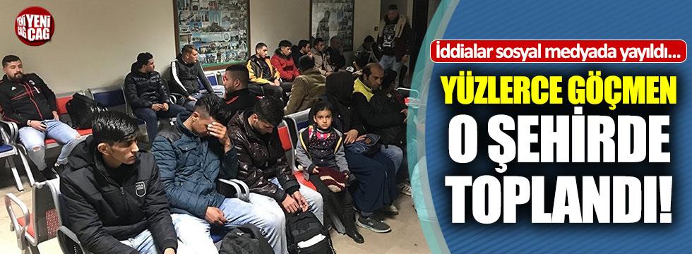 Edirne'de 950 kaçak göçmen yakalandı