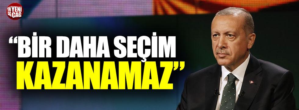 """Abdüllatif Şener: """"Erdoğan bir daha seçim kazanamaz"""""""