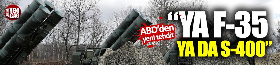 """""""Türkiye, ABD ile Rusya arasında seçim yapacak"""""""