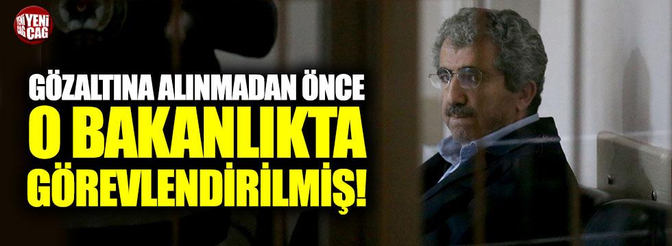 Ali Demir gözaltına alınmadan önce o bakanlıkta görevlendirilmiş!