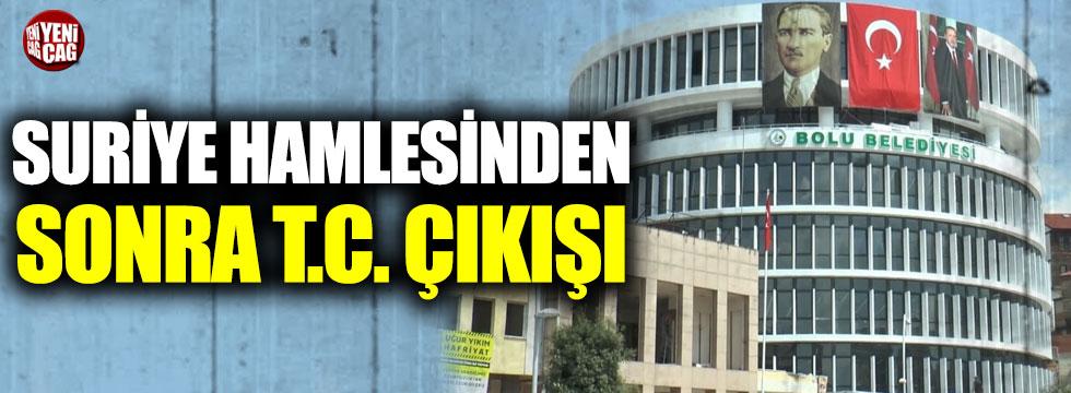 CHP'li başkandan hamle: T.C. ibaresi geri geliyor